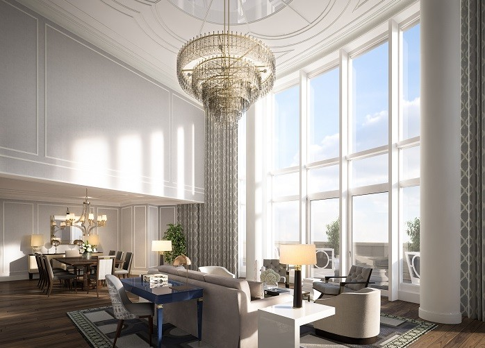 Boston Harbor Hotel Living Room