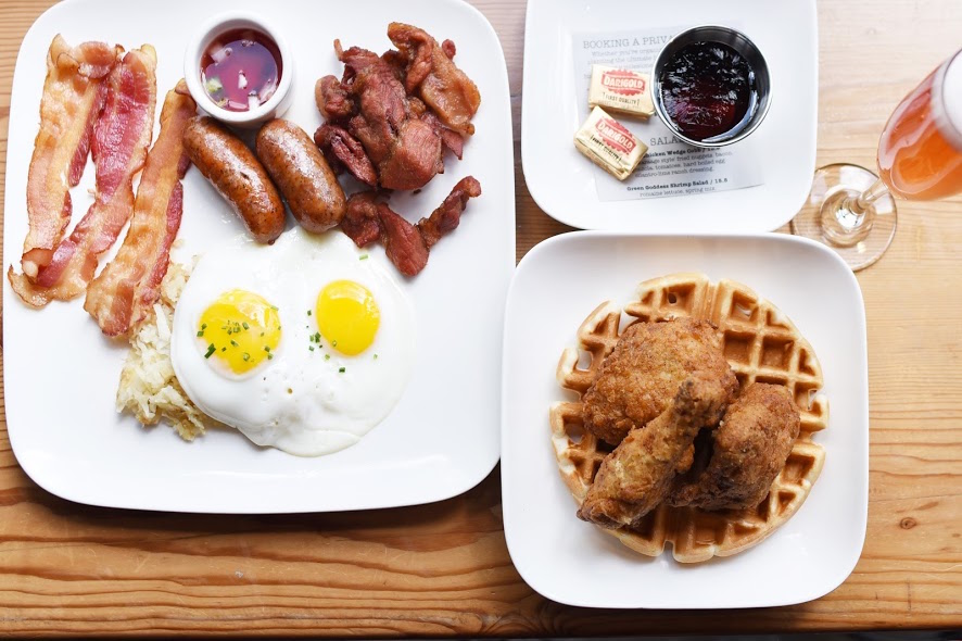 Buffalo Theory's brunch items