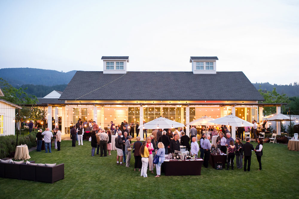 Last year's Calistoga food and wine event at Solage