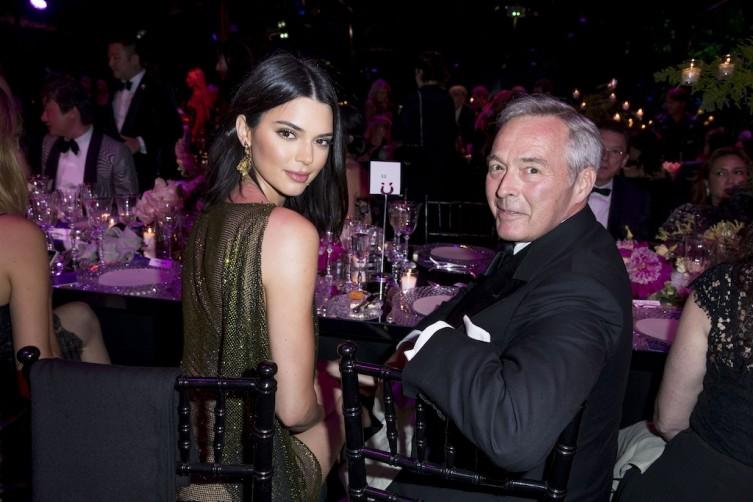 Kendall Jenner and Karl-Friedrich Scheufele