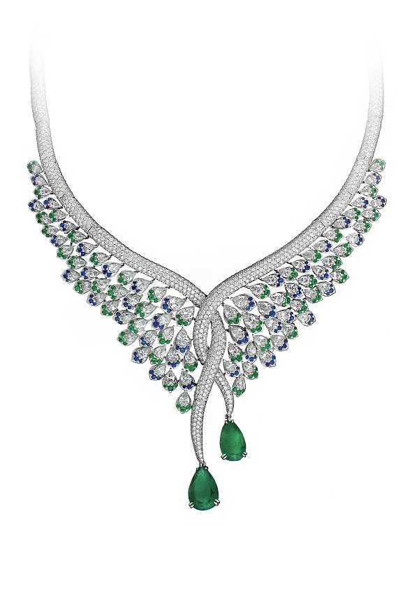 Statement necklace from Avankian's Gatsby Collection