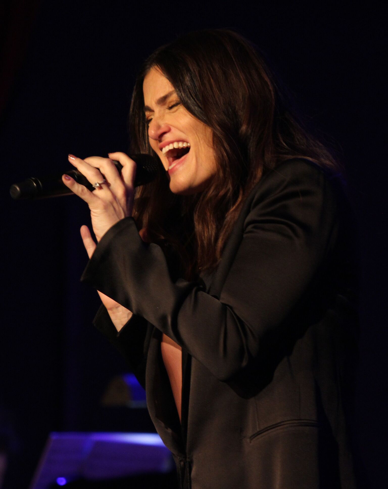 Idina Menzel performs at last year's gala
