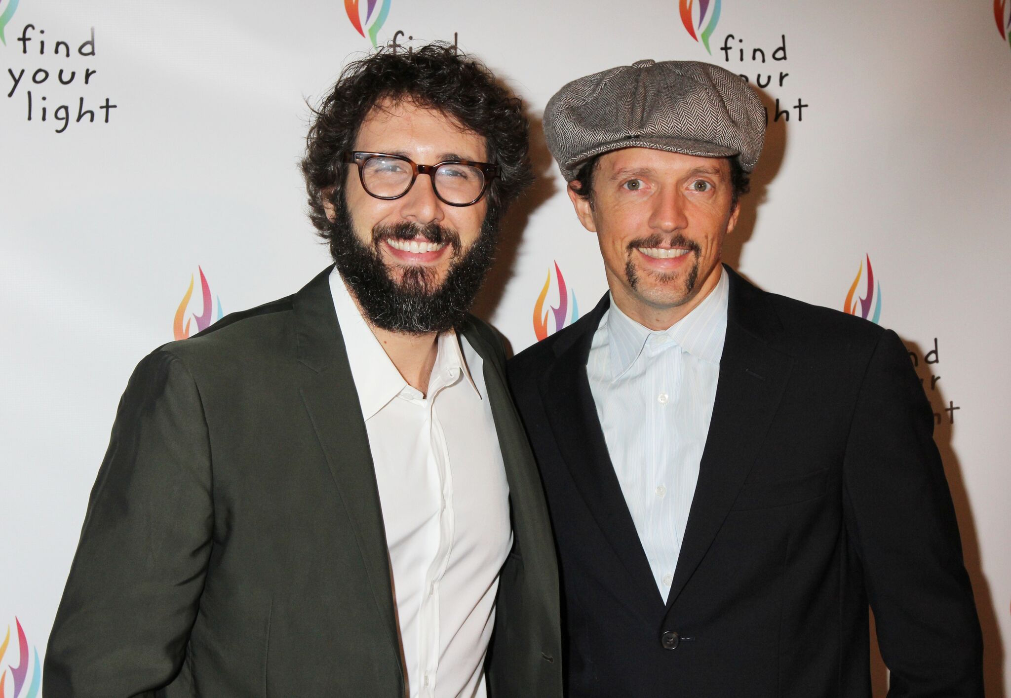 Josh Groban and Jason Mraz at last year's event