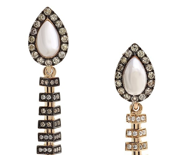 La Mysterieuse Avakian earrings from the Gatsby Inspired Jewelry Collection
