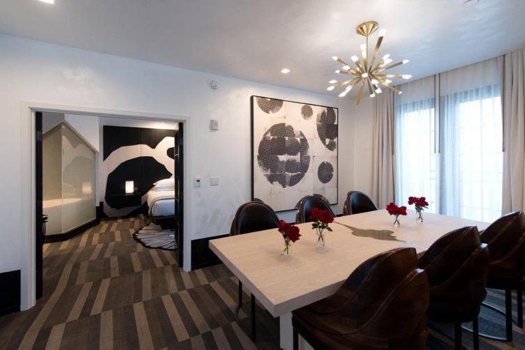 The best suite at Kimpton La Peer