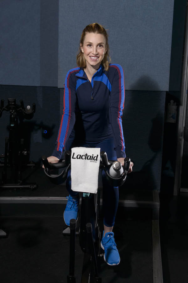 Whitney Port Refuels After a Flywheel Class