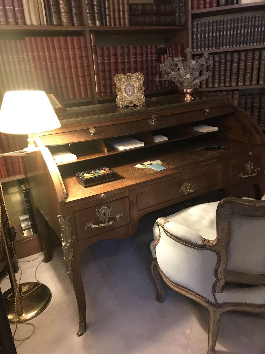 Chanel's desk
