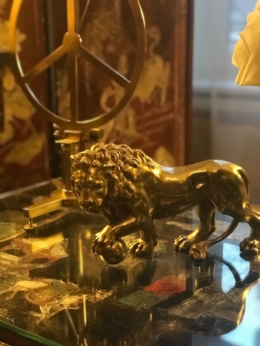 One of Chanel's lions