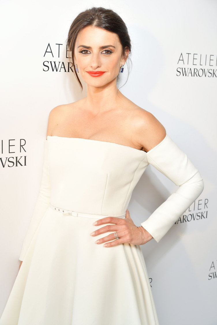 Penélope Cruz Introduces Atelier Swarovski Fine Jewelry Collection At The Cannes Film Festival