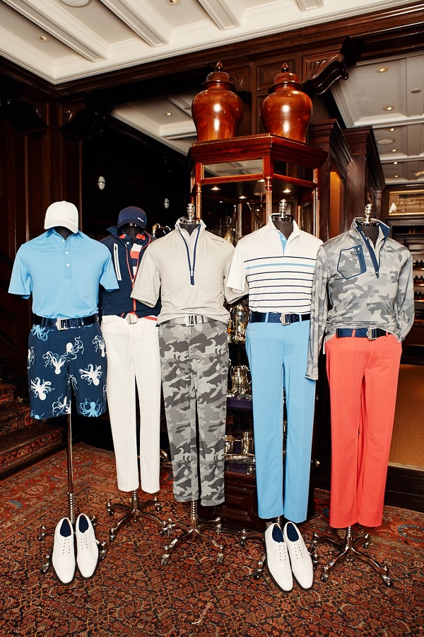 RLX Ralph Lauren does first collaboration with pro golfer Billy Horschel Collection. Golf Collection.