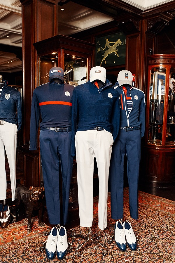 RLX Ralph Lauren does first collaboration with pro golfer Billy Horschel Collection. The Ryder Collection