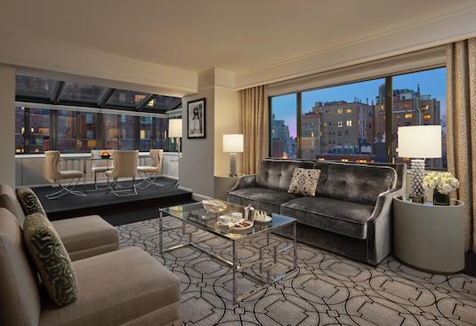 Atrium Suite Living Room