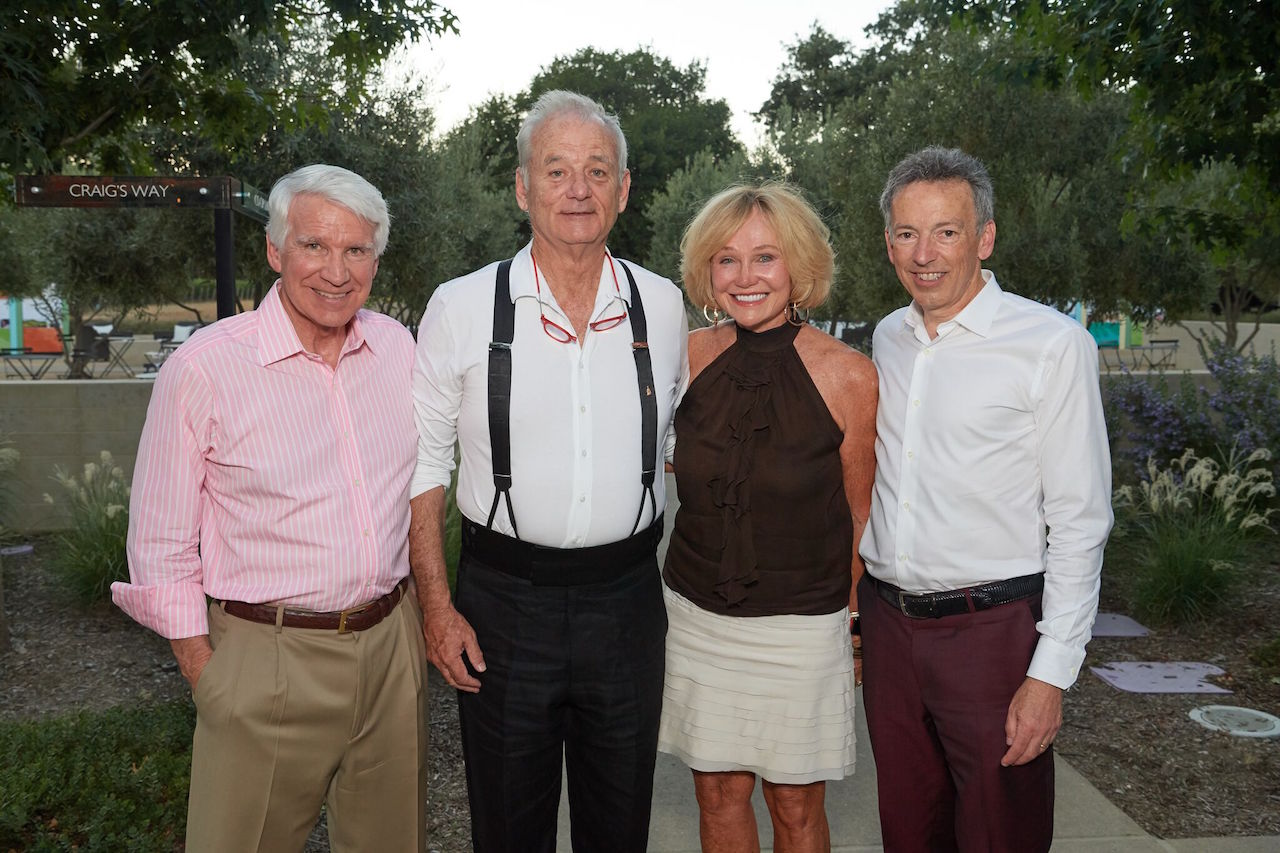 Timothy Blackburn, Bill Murray, Kathryn Hall, and Richard Walker