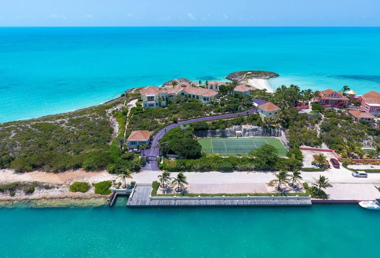 Prince's Turks & Caicos Paradise Is Up For Auction And It Could Be Yours (For A Hefty Price)