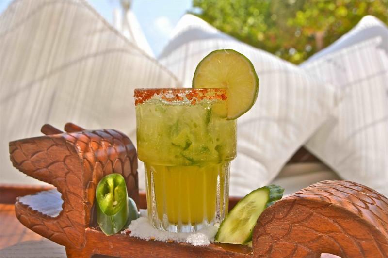 Jalapeno Cucumber Margarita Nikki Beach
