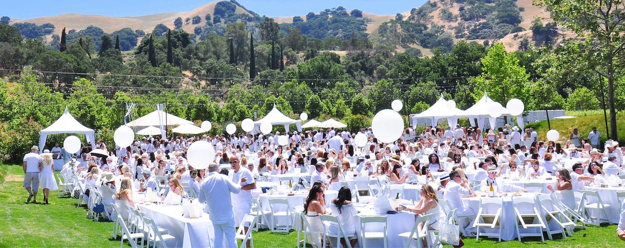 Wente Vineyards' White Party