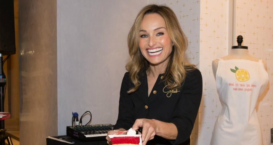 Giada De Laurentiis Chats Over Coffee And Cake During Vegas Uncork'd
