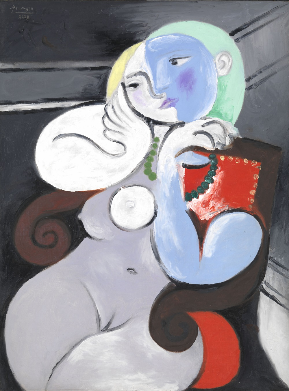 Must-See Art Exhibits Around The World Picasso, Nude Woman in a Red Armchair on exhibit at Tate in England