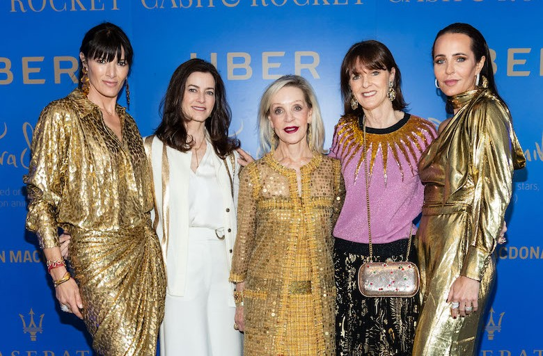 Cash & Rocket Roars Into Town With Flock Of Gorgeous Women