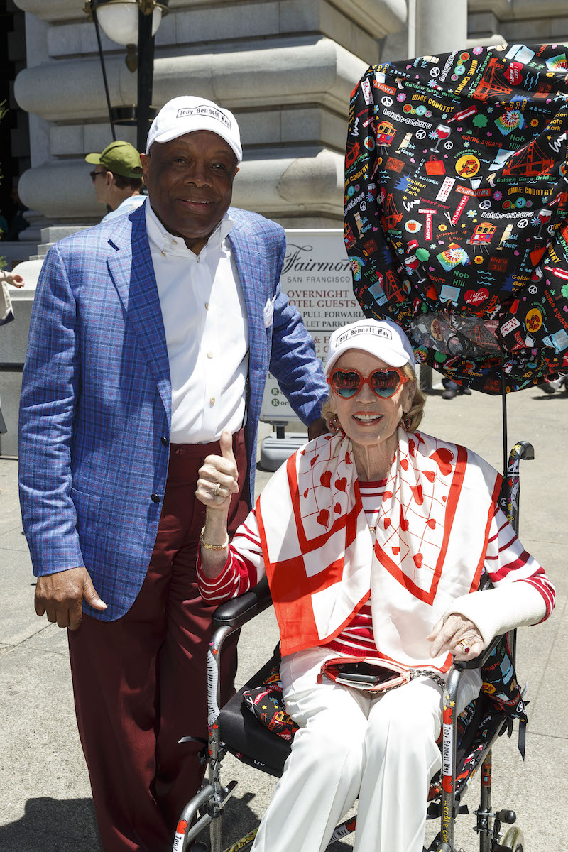 Willie Brown and Charlotte Shultz