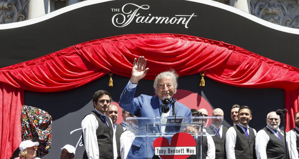 Tony Bennett Gets His Own Street At Lavish Celebration