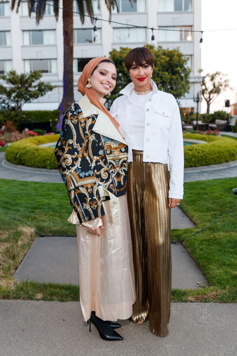 Noor Tagouri and Jackie Cruz