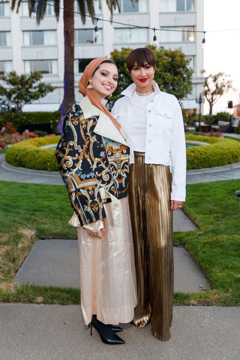 Noor Tagouri and Jackie Cruz