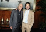 "Michael Douglas & Paul Rudd at The After Party For Marvel Studios' ""Ant-Man And The Wasp"" at The Water Club Restaurant, New York, NY"