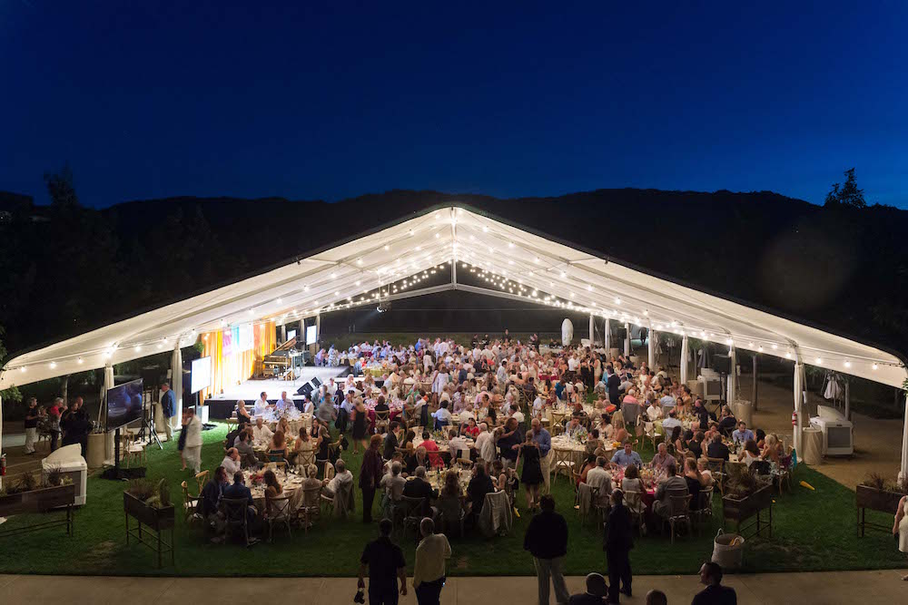 Atmosphere at Festival Napa Valley 2017 Arts for All Gala at Hall