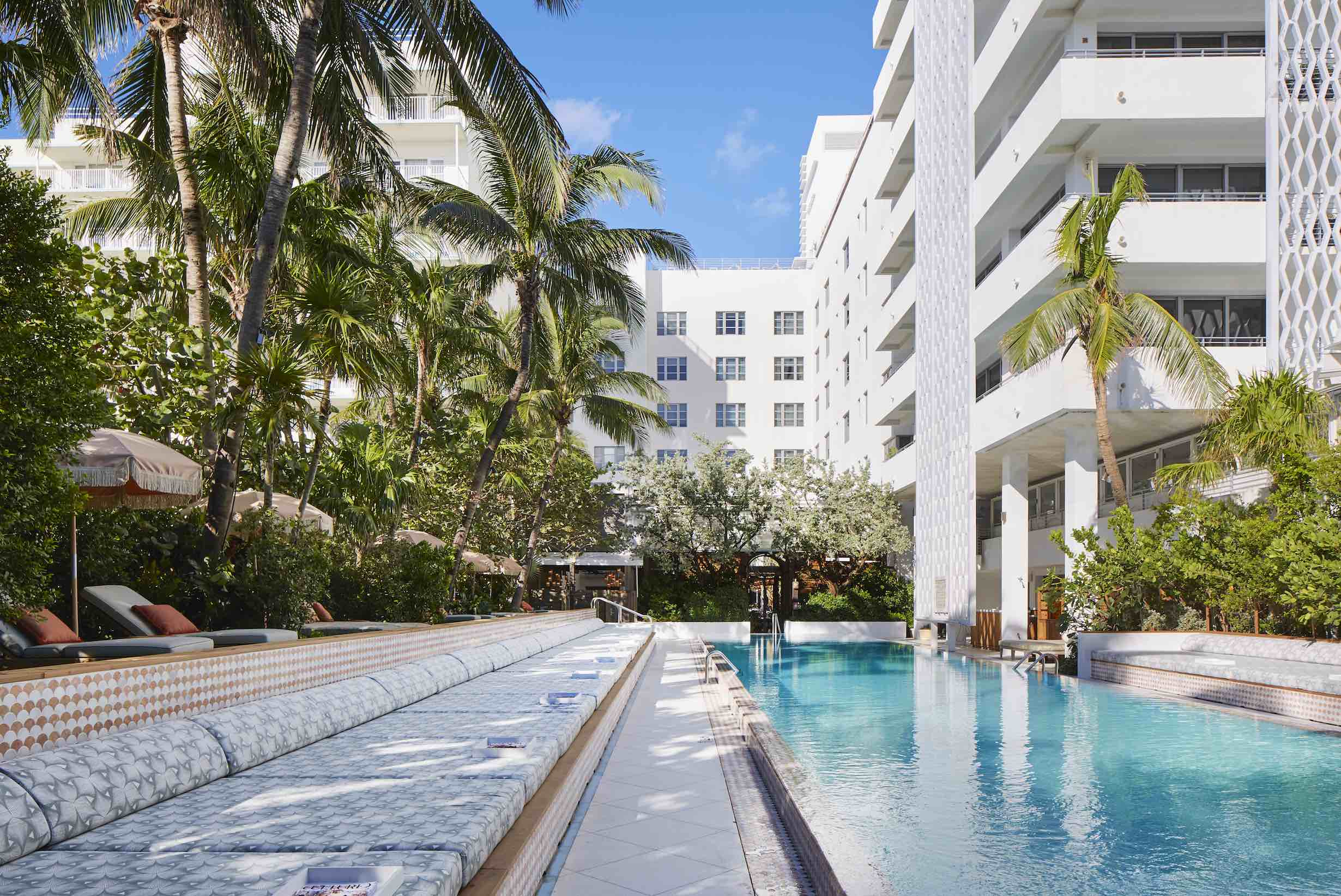 Miami At These Haute Poolside Destinations