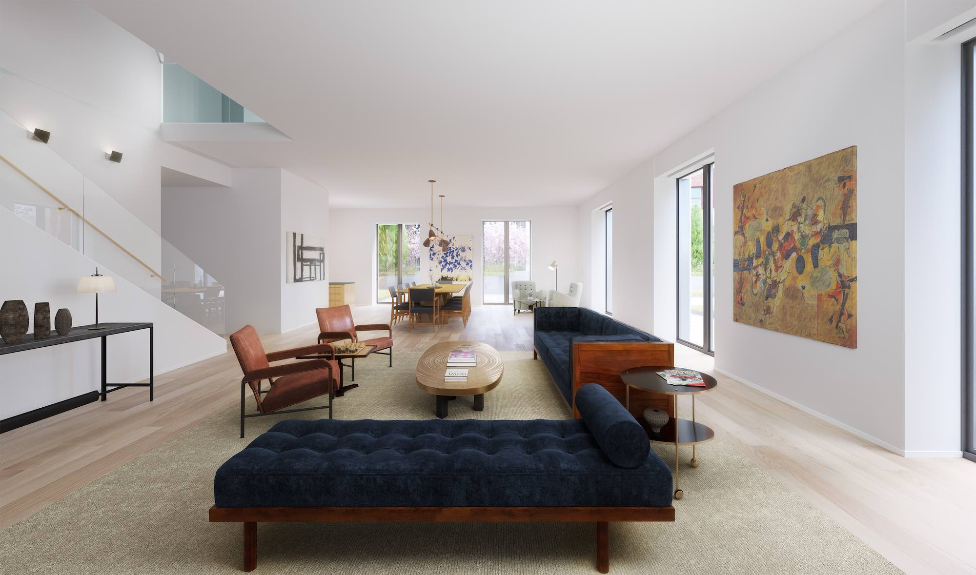 21 East 12th Street Terrace Townhome livingroom