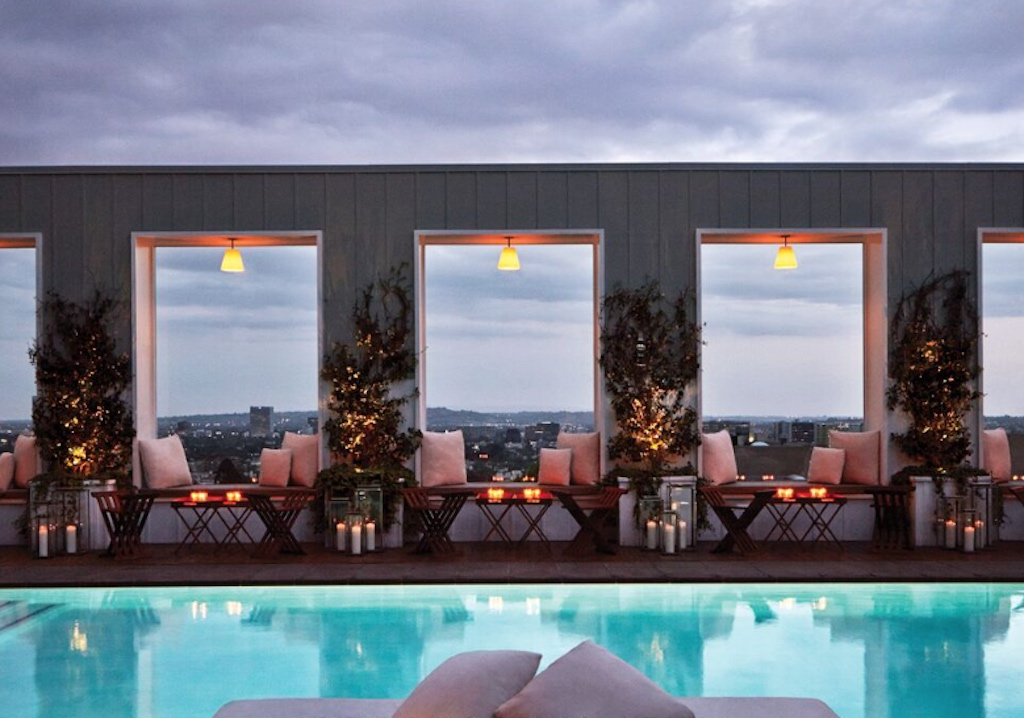 sbe's Skybar at Mondrian, Los Angeles, CA