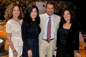 Linda Levy Goldberg, Yolanda Berkowitz, Kamal Hotchandani and Valerie David Kaye