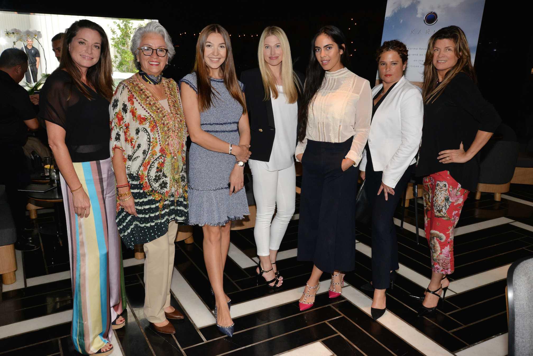 Katie Lillis, Adriana Pinto Torres, Dasha Goncharova, Dina Goldenteyer, Deyvanshi Masrani, ___ and Dora Puig