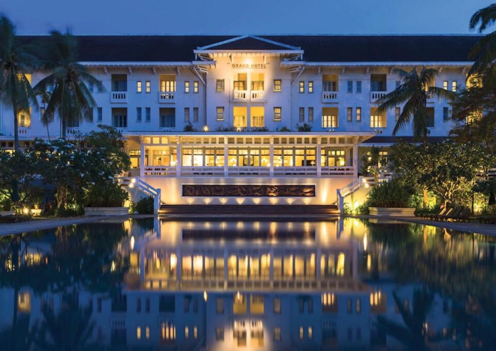 AccorHotels' Raffles Grand Hotel, Siem Reap, Cambodia