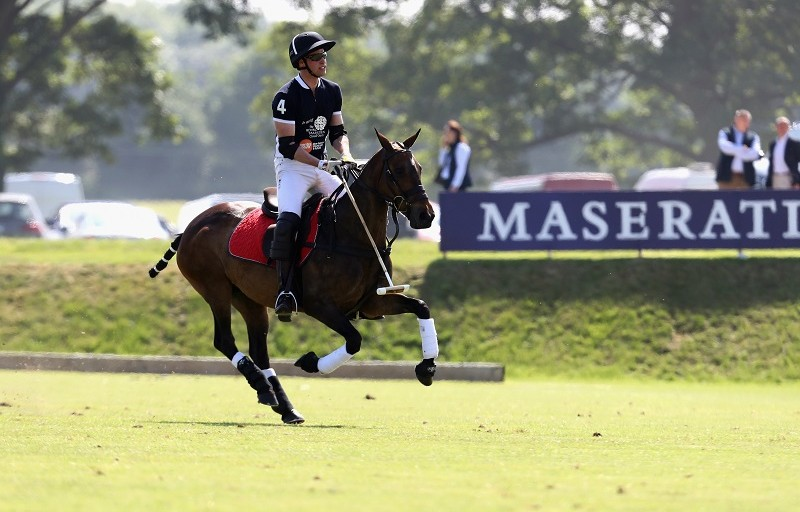 Prince William Shines At The Maserati Royal Charity Polo Trophy 2018
