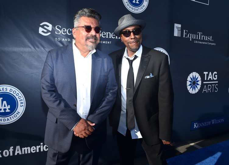 George Lopez and Arsenio Hall