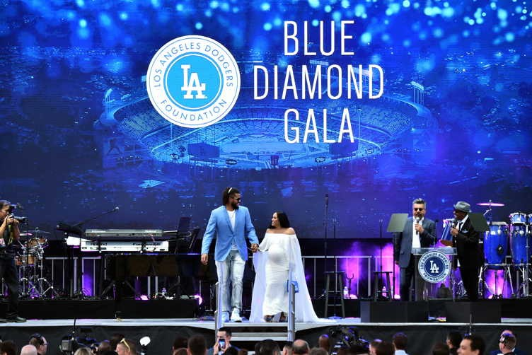 Fourth Annual Los Angeles Dodgers Foundation Blue Diamond Gala 4