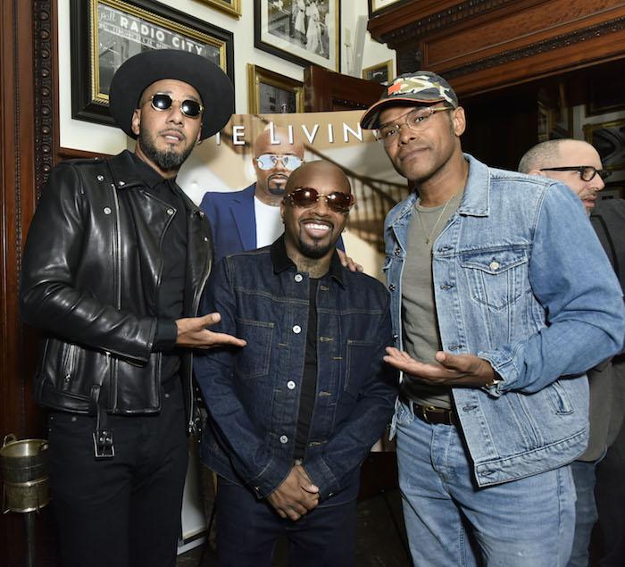 Swizz Beats, Jermaine Dupri, and Maxwell