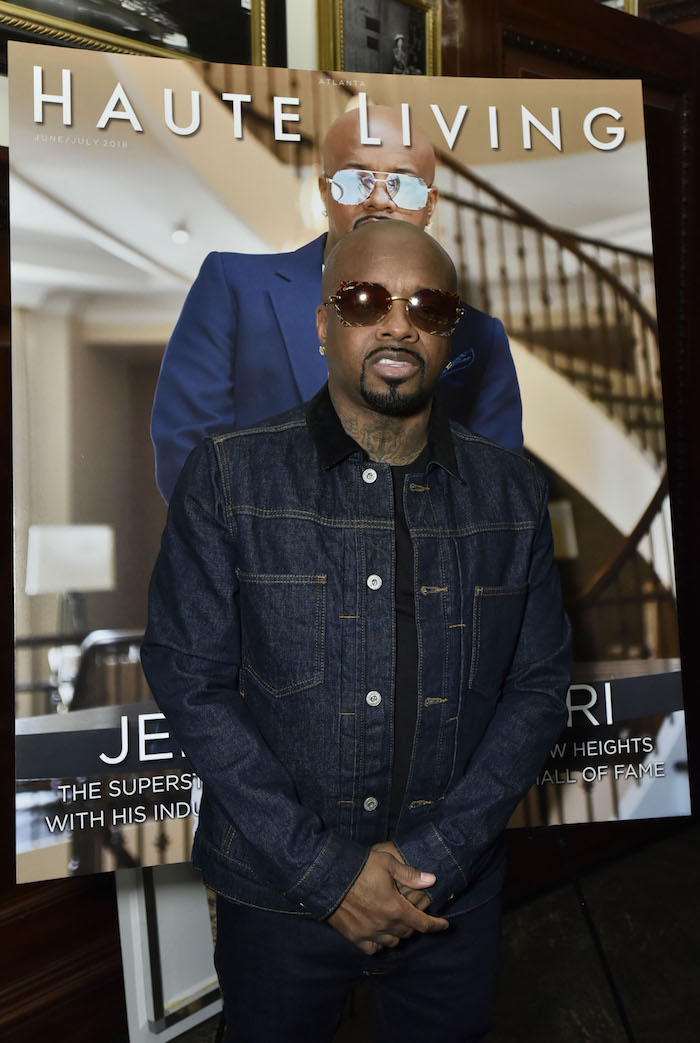 Jermaine Dupri attends the Haute Living Honors Jermaine Dupri's Induction Into The Songwriters Hall Of Fame at The Clocktower at the New York EDITION on June 13, 2018 in New York City.