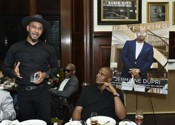 Swizz Beats toasts Jermaine Dupri
