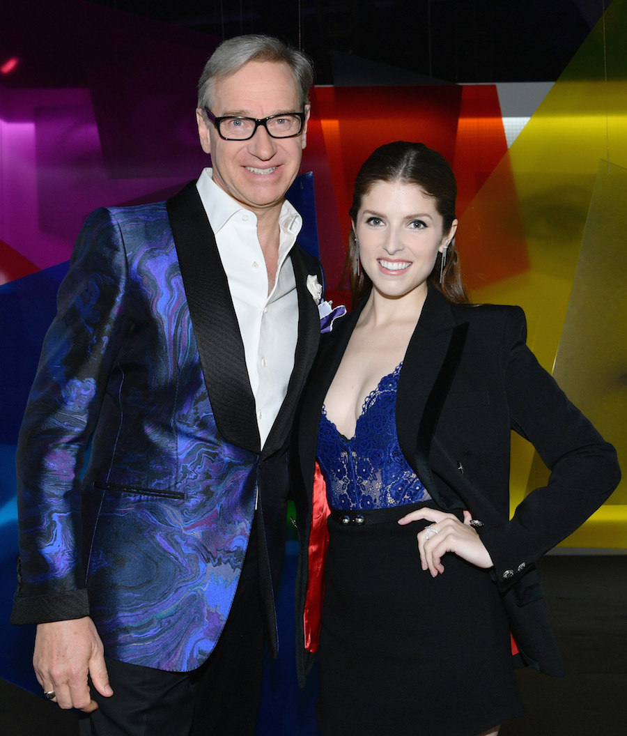 Paul Feig and Anna Kendrick