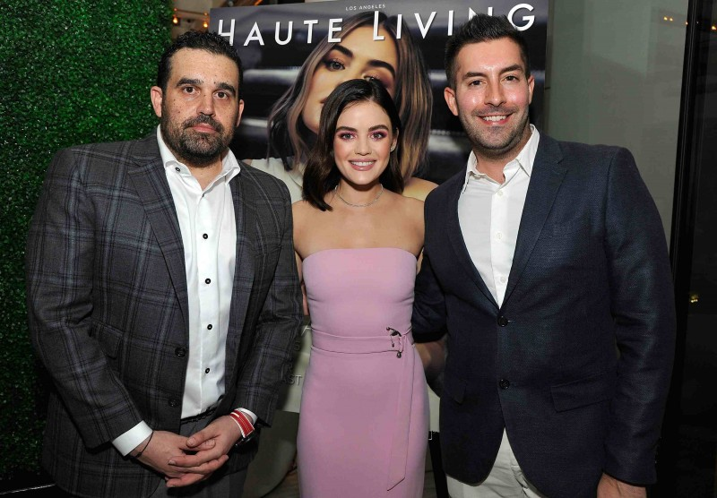 Haute Living Celebrates Lucy Hale Cover with Real is a Diamond