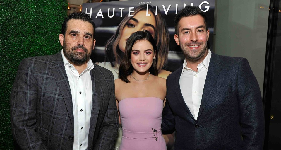 Haute Living Celebrates Lucy Hale With Real Is A Diamond