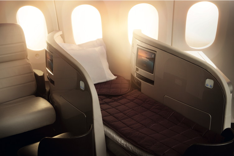 Boeing 7879 Business Premier Lie Flat Bed-0156530.eps
