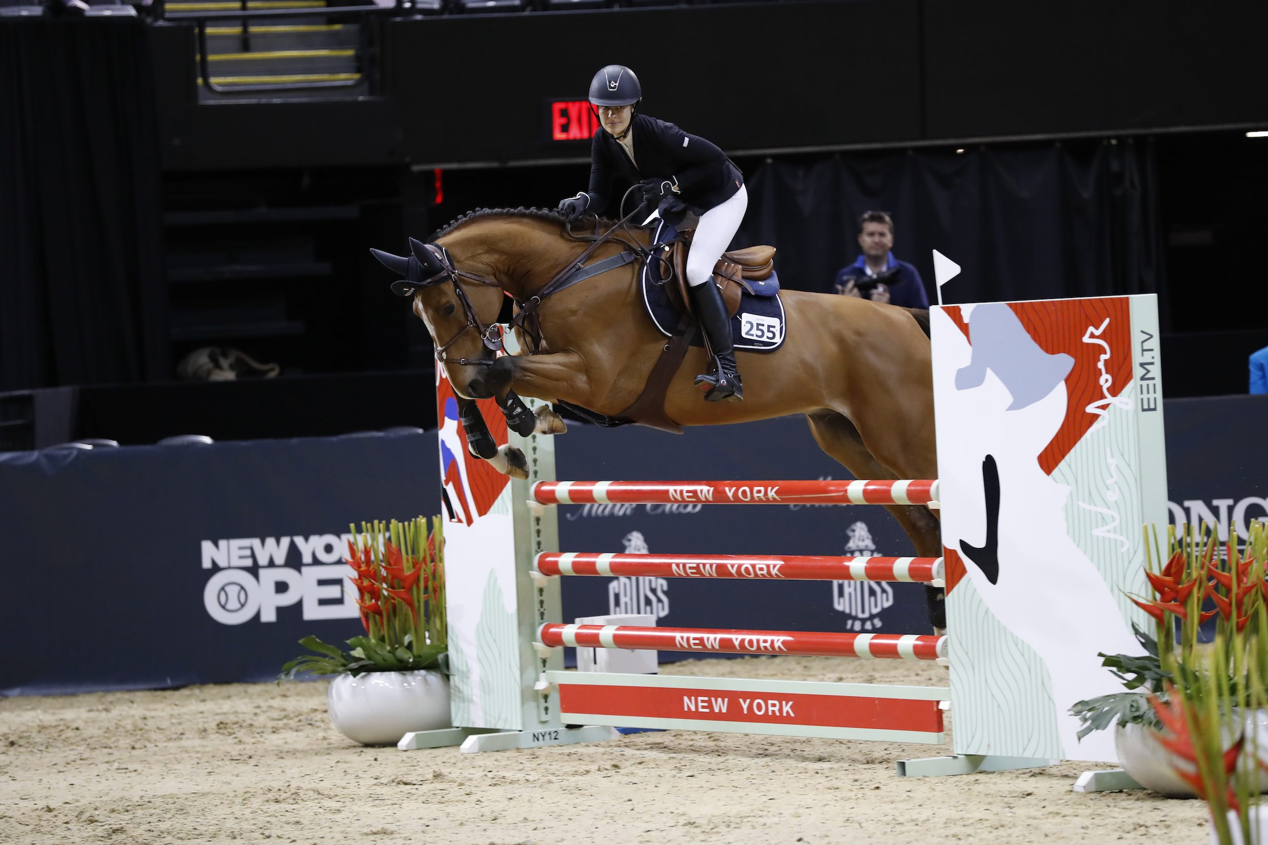 Ariana Rockefeller at the Longines Masters of New York - Credit WorldRedEye for EEM (1)