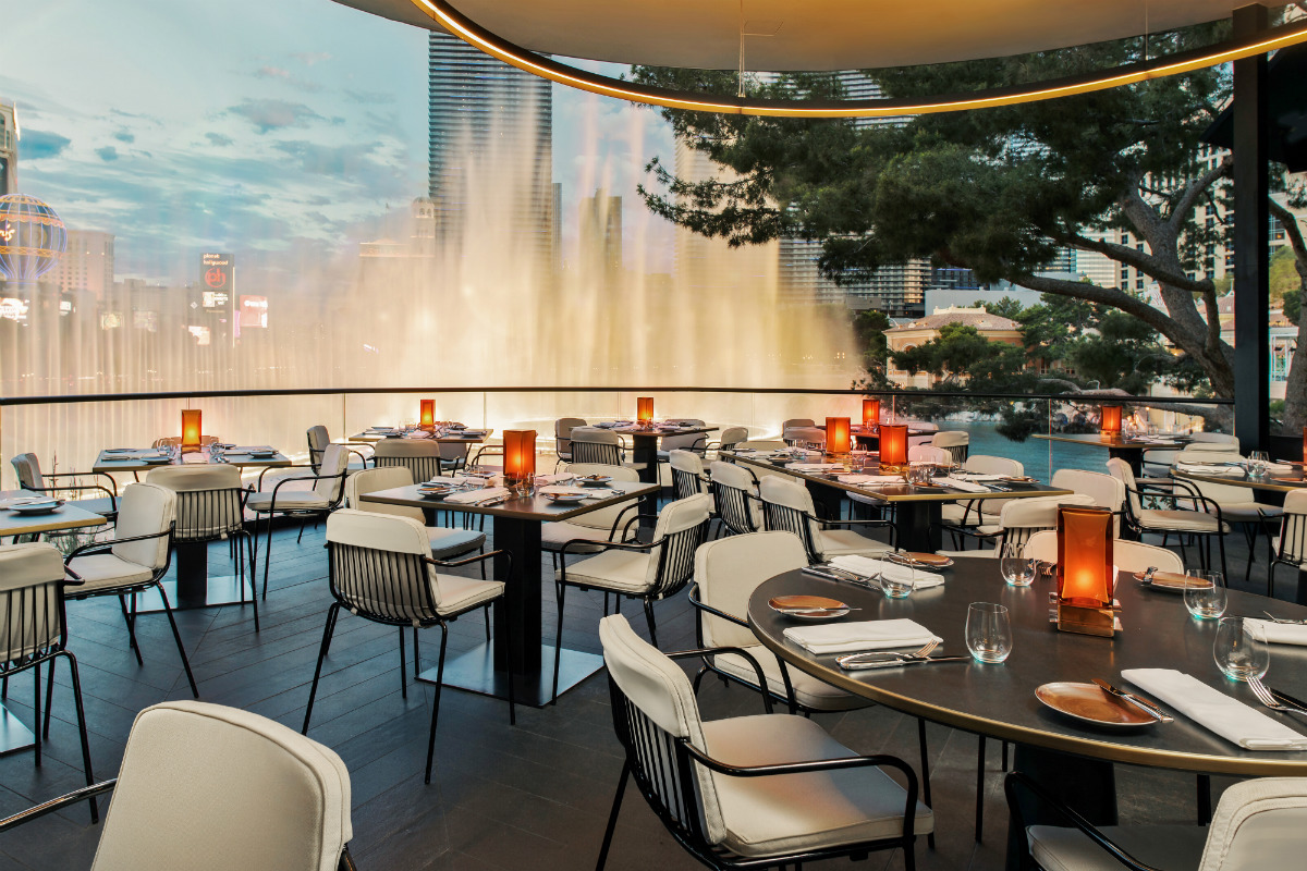 Wolfgang Puck S Spago Reopens At Bellagio Resort Amp Casino
