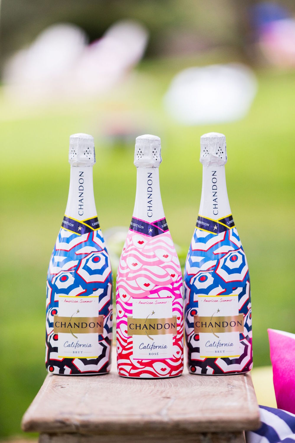 Chandon's limited edition Summer-themed bottles