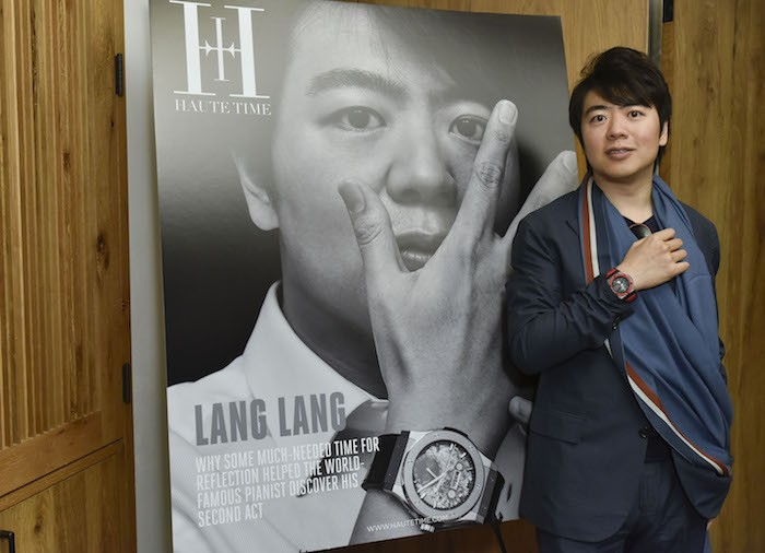 Inside Haute Time's Lang Lang Cover Celebration At 1 Hotel Central Park