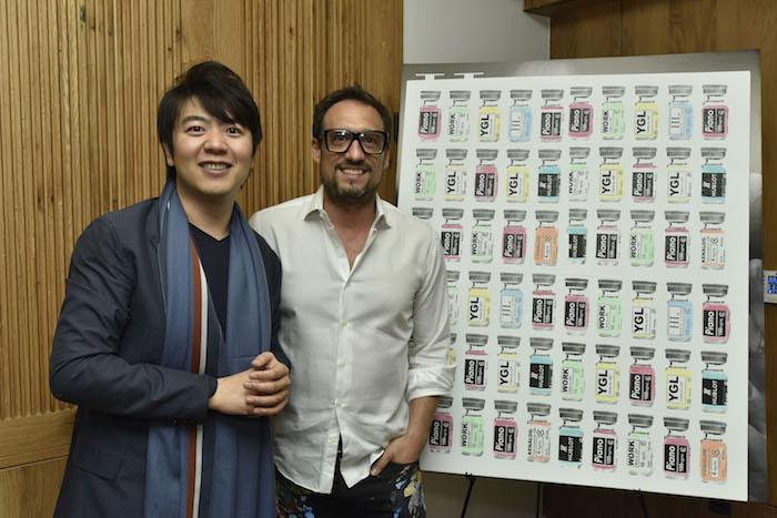 Lang Lang and Shawn Kolodny